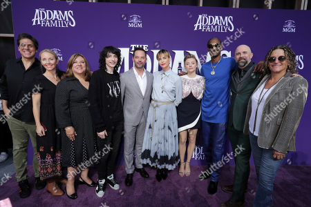 Editorial photo of MGM 'The Addams Family' world film premiere, Los Angeles, USA - 06 Oct 2019