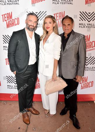Julio Vincent Gambuto, Anastasia Ganias-Gellin and Anthony Patellis