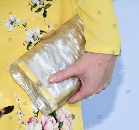 Christina Hendricks, bag detail