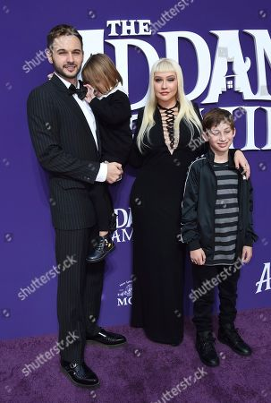 """Editorial image of LA Premiere of """"The Addams Family"""", Los Angeles, USA - 06 Oct 2019"""