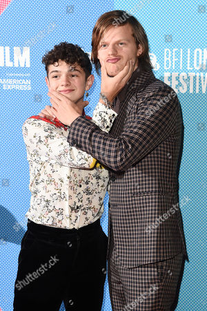 Lucas Hedges and Noah Jupe