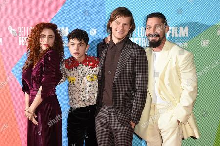 Editorial picture of Amazon Studios' 'Honey Boy' premiere, BFI London Film Festival, UK - 06 Oct 2019