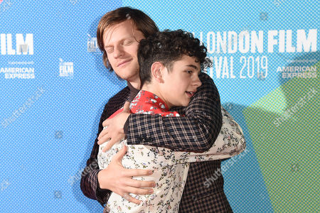 Stock Picture of Lucas Hedges and Noah Jupe