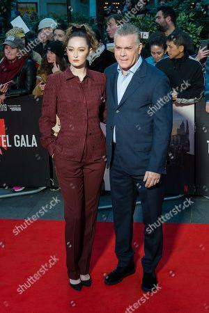 Karsen Liotta and Ray Liotta
