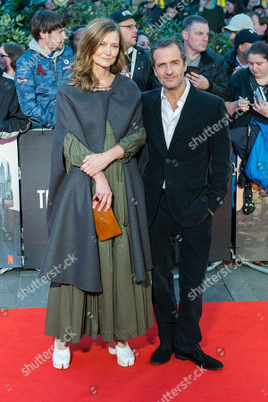 Stock Picture of David Heyman and Rose Uniacke