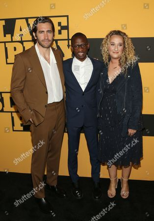 Stock Image of Jake Gyllenhaal, Troy Carter, Riva Marker