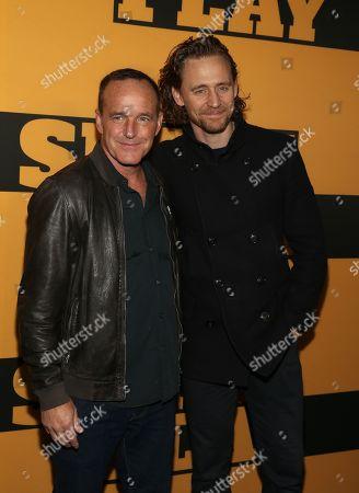 Clark Gregg, Tom Hiddleston