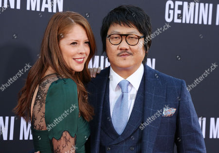 Benedict Wong and guest