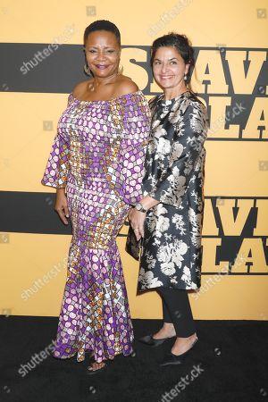 Tonya Pinkins and Doris Casap