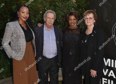 Stock Photo of Chinonye Chukwu, Mark Fishkin, Alfre Woodard and Zoe Elton