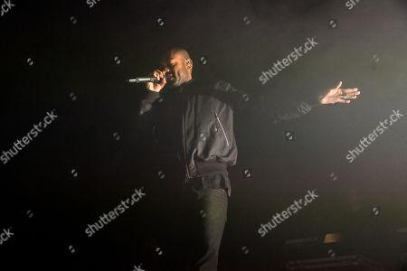 Editorial image of Kano in concert, Brighton Dome, Brighton, UK - 06 Oct 2019