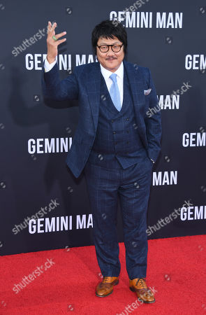 """Benedict Wong attends the premiere of """"Gemini Man"""" at the TCL Chinese Theater, in Los Angeles"""