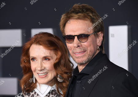 "Jerry Bruckheimer, Linda Bruckheimer. Producer Jerry Bruckheimer (R) and Linda Bruckheimer attend the premiere of ""Gemini Man"" at the TCL Chinese Theater, in Los Angeles"