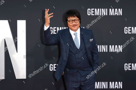 Benedict Wong arrives at the premiere of Gemini Man at the TCL Chinese Theatre IMAX in Los Angeles, USA, 06 October 2019. The movie opens in US theaters on 11 October 2019.