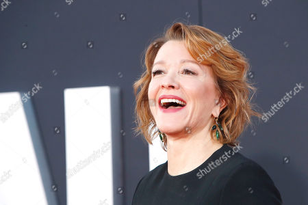 Linda Emond smiles as she arrives at the premiere of Gemini Man at the TCL Chinese Theatre IMAX in Los Angeles, USA, 06 October 2019. The movie opens in US theaters on 11 October 2019.