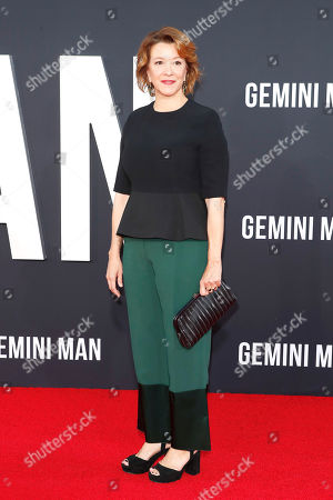Linda Emond arrives at the premiere of Gemini Man at the TCL Chinese Theatre IMAX in Los Angeles, USA, 06 October 2019. The movie opens in US theaters on 11 October 2019.