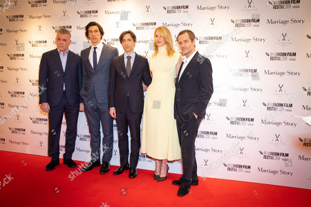 Ray Liotta, Adam Driver, Noah Baumbach, Laura Dern and David Heyman