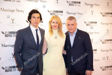 Adam Driver, Laura Dern and Ray Liotta