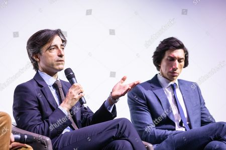Noah Baumbach and Adam Driver at Netflix's Marriage Story LFF Bafta Q&A