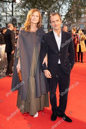 Stock Image of Rose Uniacke and David Heyman