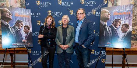 Jane Rosenthal, Robert De Niro and Rodrigo Prieto