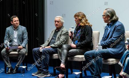 Moderator, Robert De Niro, Jane Rosenthal, Rodrigo Prieto