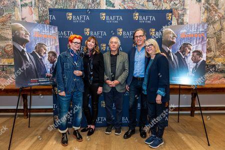 Stock Picture of Sandy Powell, Jane Rosenthal, Robert De Niro, Rodrigo Prieto and Ellen Lewis