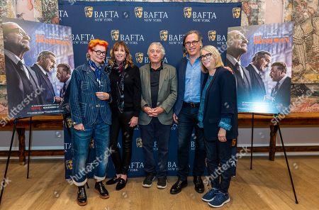Sandy Powell, Jane Rosenthal, Robert De Niro, Rodrigo Prieto and Ellen Lewis