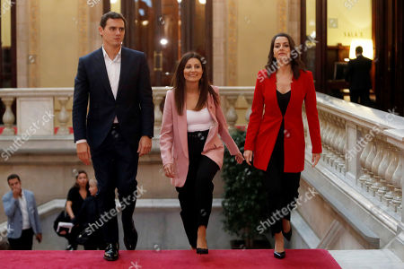 Editorial picture of Ciudadanos Party files a non-confidence motion against Catalan regional President, Barcelona (Es-Es), Spain - 07 Oct 2019