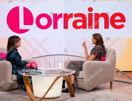 Editorial photo of 'Lorraine' TV show, London, UK - 07 Oct 2019
