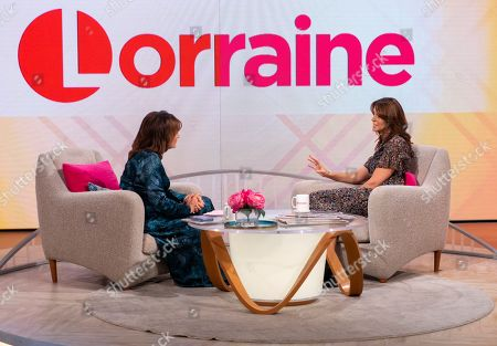 Editorial picture of 'Lorraine' TV show, London, UK - 07 Oct 2019