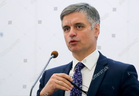 Editorial photo of Latvia, Kyiv, Ukraine - 07 Oct 2019