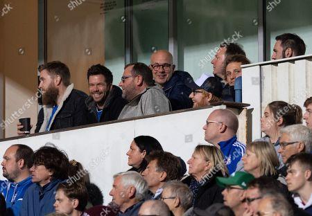 Ed Sheeran at Portman Road watching the match