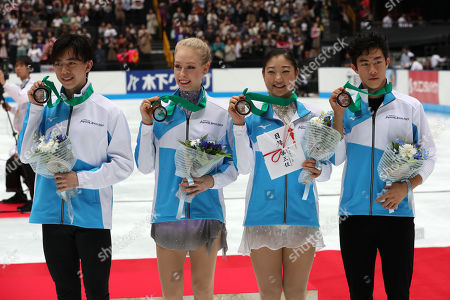 Editorial photo of Japan Open Figure Skating, Saitama, Japan - 05 Oct 2019