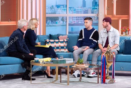 Editorial image of 'This Morning' TV show, London, UK - 07 Oct 2019