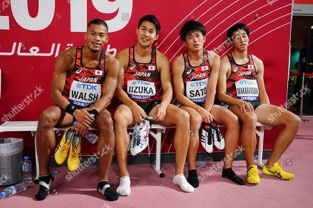 Editorial picture of IAAF World Championships, Doha, Qatar - 05 Oct 2019