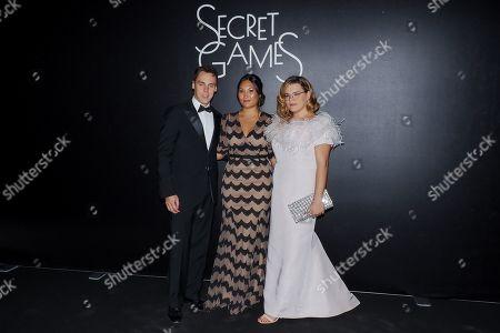 Louis Ducruet, Marie Ducruet, Camille Marie Kelly Gottlieb
