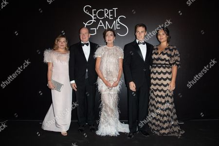 Editorial image of Secret Games Party at Monte Carlo Casino, Monaco - 05 Oct 2019