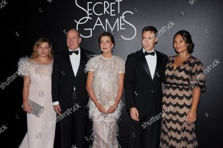 Camille Marie Kelly Gottlieb, Prince Albert II of Monaco, Princess Caroline of Hanover, Louis Ducruet, Marie Ducruet