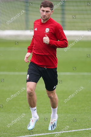 Editorial image of Wales Football Training Session - 07 Oct 2019