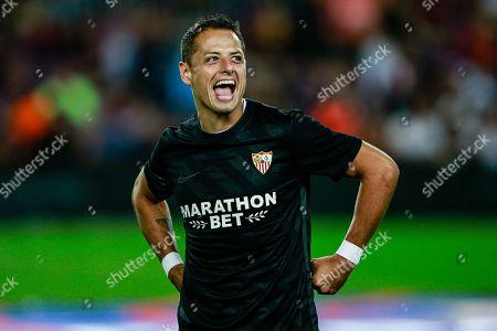 Stock Image of Javier Hernandez of Sevilla FC
