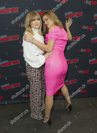 Maddie Hasson and Missi Pyle