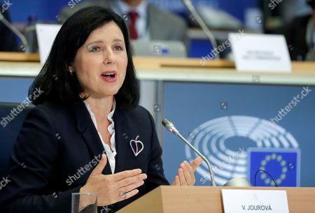 Editorial picture of European Parliament hearings with Commissioners-designate, Brussels, Belgium - 07 Oct 2019
