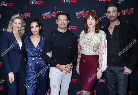 Editorial photo of 'Riverdale' TV show panel, New York Comic Con, USA - 06 Oct 2019