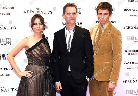 Editorial picture of 'The Aeronauts' premiere, BFI London Film Festival, UK - 07 Oct 2019