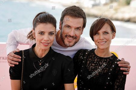 Maribel Verdu, Daniel Grao and Aura Garrido attend the premiere of the movie 'El asesino de los caprichos' (lit. The killer of the whims) at the 52nd Sitges Fantastic Film Festival near Barcelona, Spain, 07 October 2019. The festival runs from 03 to 13 October.