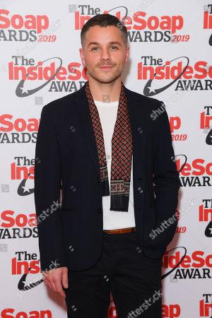 Editorial image of Inside Soap Awards, London, UK - 07 Oct 2019