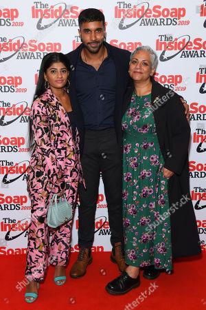 Haiesha Mistry, Rishi Nair and Harvey Virdi