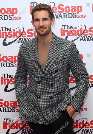 Editorial photo of Inside Soap Awards, London, UK - 07 Oct 2019