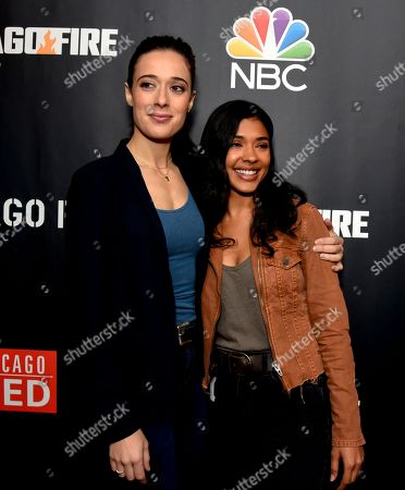 Stock Image of Marina Squerciati and Lisseth Chavez